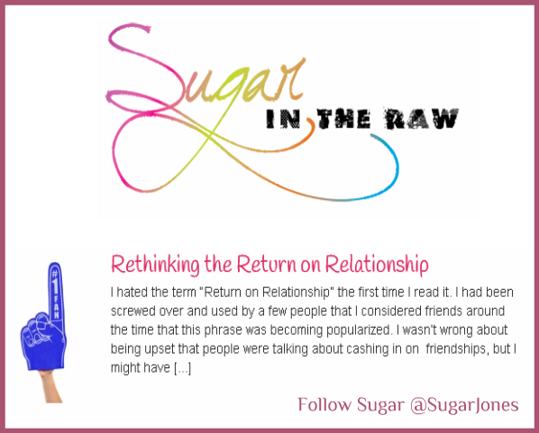 Sugar in the Raw Talking Return on Investments