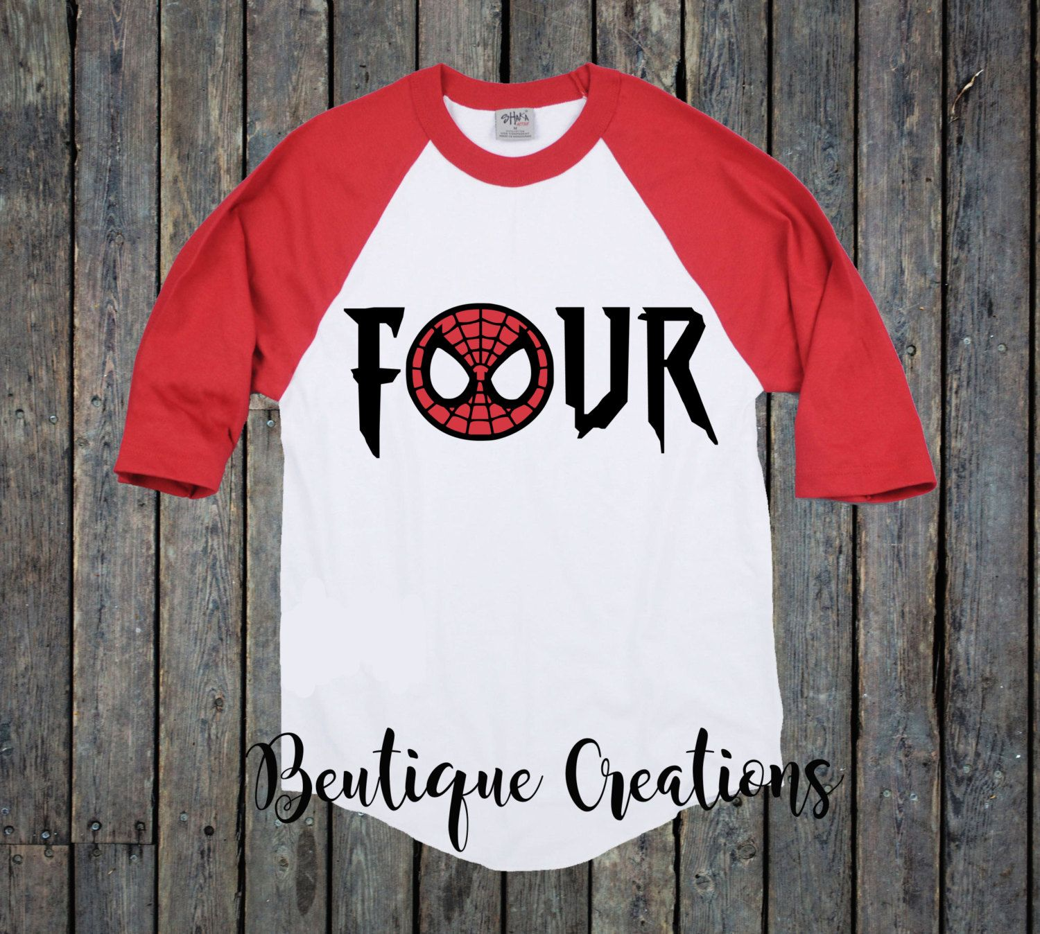 85c24335 Fourth Birthday Shirt/ Toddler Shirt/ Spiderman shirt/ Avengers/ 4th  Birthday…