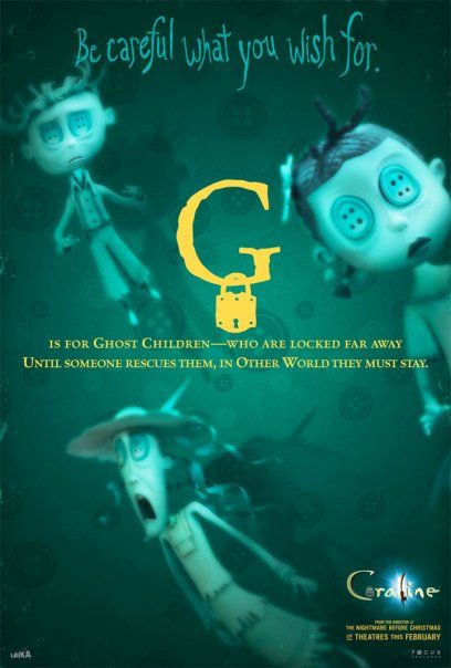 In Each Of Three Wonders I Ve Made Just For You A Ghost Eye Is Lost In Plain Sight Coraline Movie Coraline Coraline Quotes