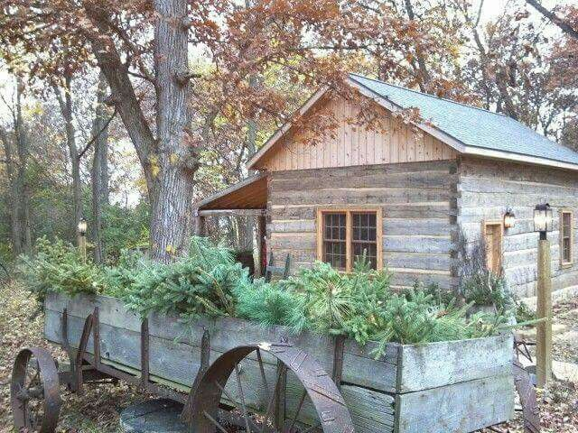 Pin by David E.W. on Cabin Fever Log cabin rustic