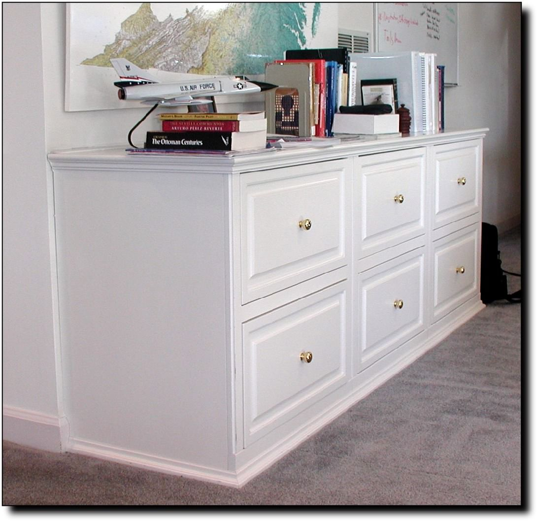 built in filing cabinets | Built In File Cabinets | Office ...