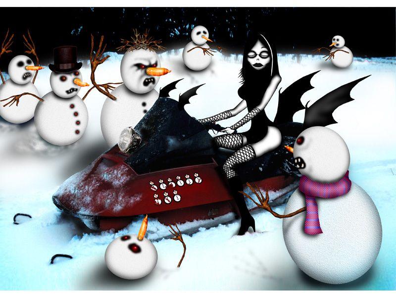 gothic christmas trees | Gothic Christmas - Kreslené obrázky | Goth ...