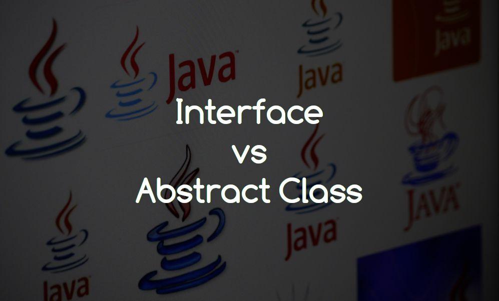 Interface vs abstract class in java geekboots java