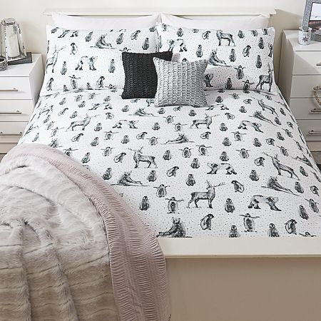 George Home Winter Animals Duvet Range From Our Bedding Today Asda Direct