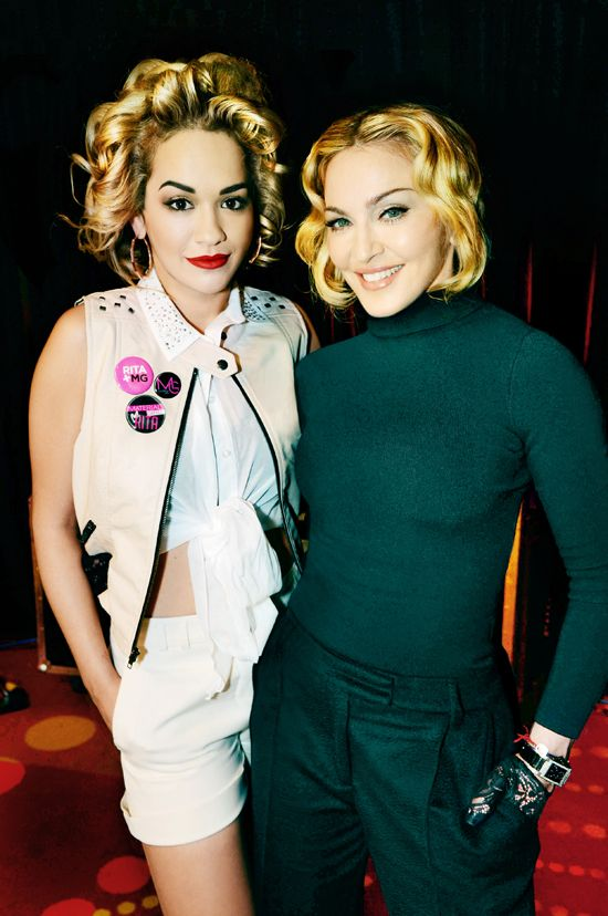 Madonna and Lola Announce Rita Ora As The New Face Of Material Girl