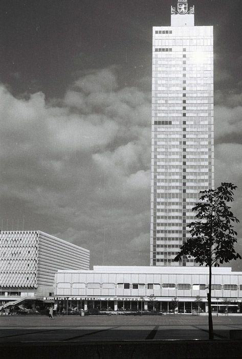Berlin City Interhotel Alex Grill Underneath Alexanderplatz Ddr 1960 S Ddr Architektur Berlin