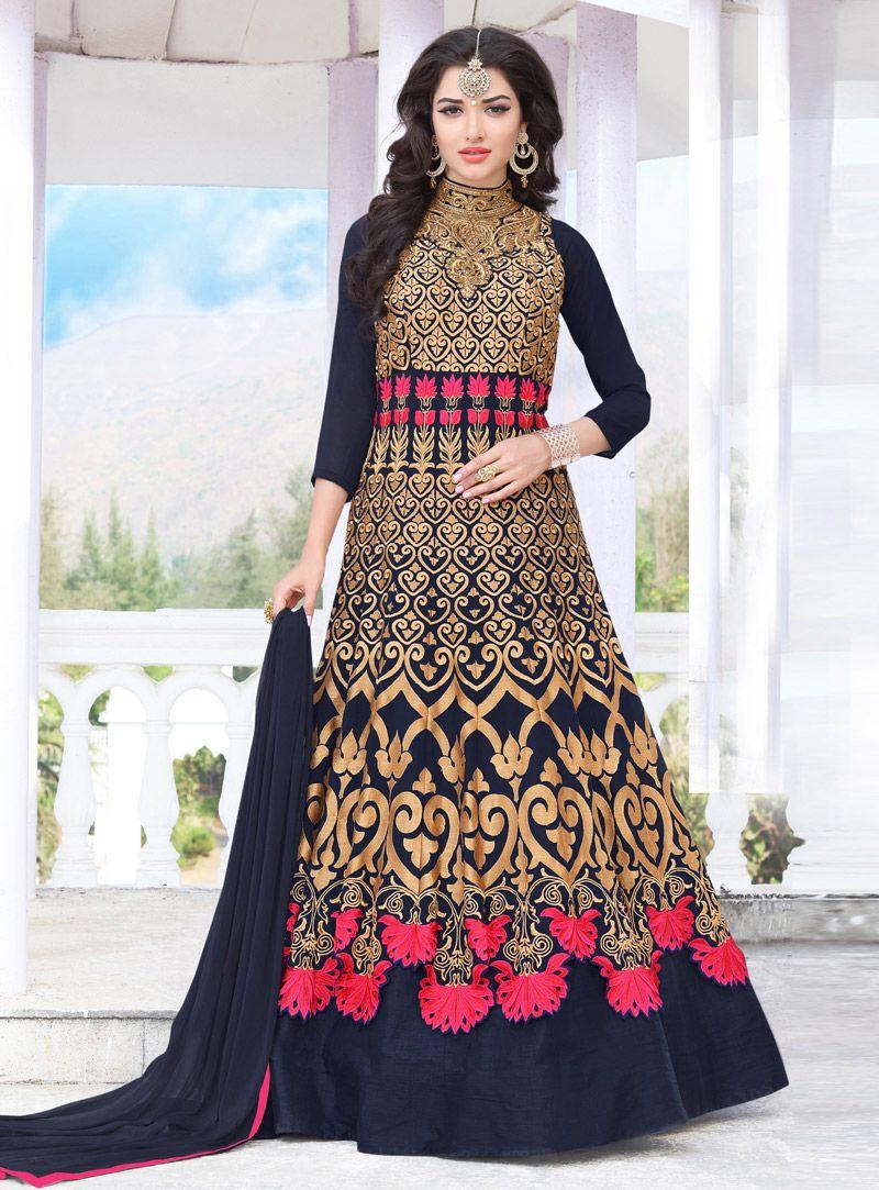 Pin on Floor Length Anarkali Salwar Suit