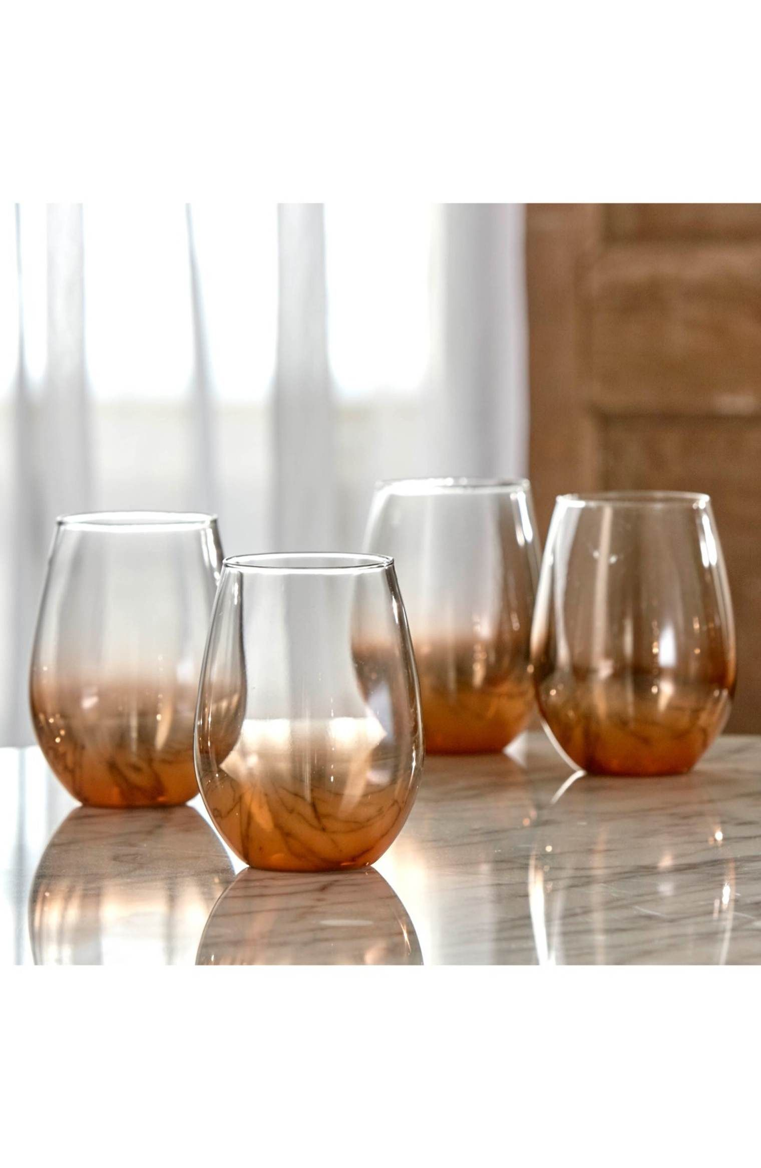 c5c5fe36be2 Main Image - American Atelier Ombré Stemless Wine Glass | Wine and ...