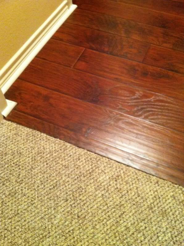 Laminate To Carpet Transition Options Doityourself Com Community