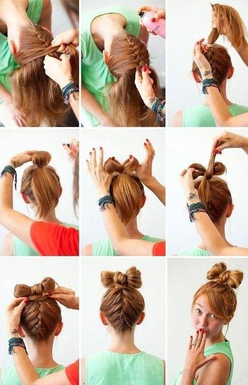 Cute Easy Chic Simple Step By Step Hair Tutorial Diy