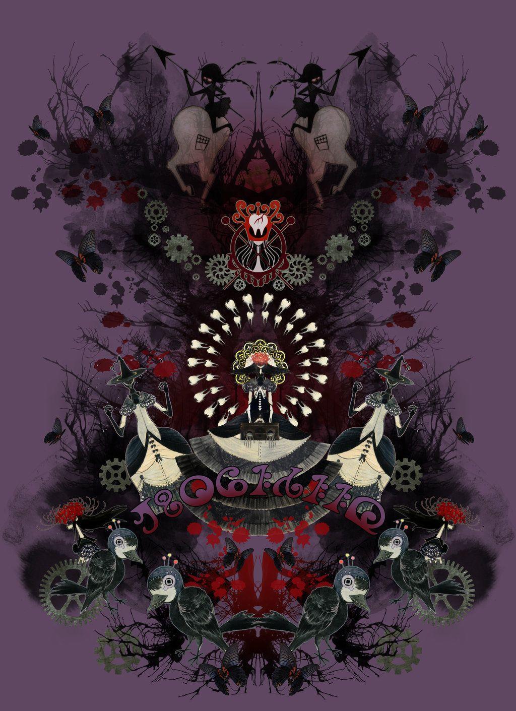 Homulilly The Nutcracker Witch Homura Akemi By Black Blossom Deviantart Com On Deviantart Madoka Magica Mahō Shōjo Madoka Magica Puella Magi Madoka Magica