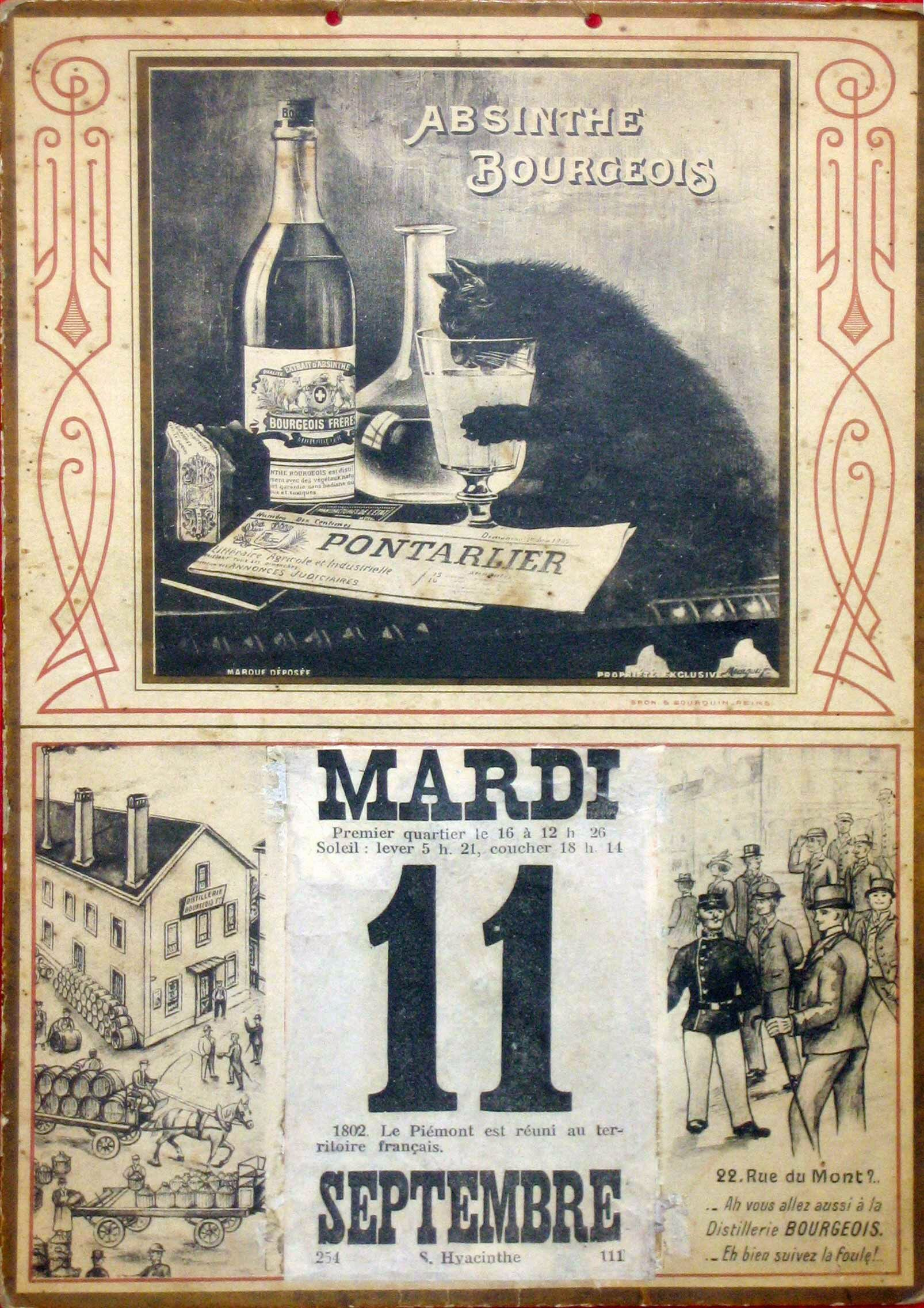 absinthe essay The absinthe drink was the icon of 'la vie boheme' of the 19th century now, after a century of prohibition, absinthe is back again read all about the alcohol-strong, mind-bending drink known as the green fairy.