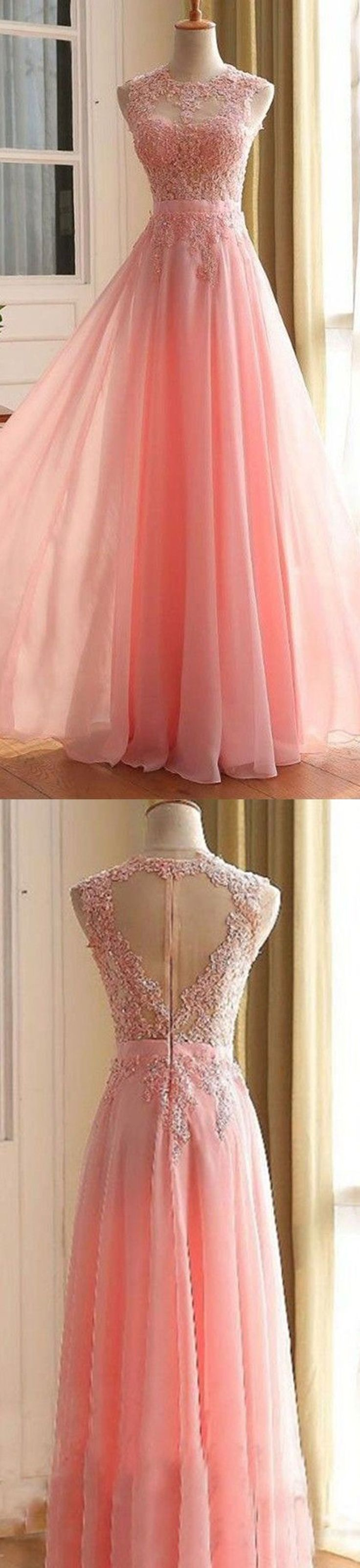 Nice Evening Dresses Charming Long Prom Dress, Appliques Pink Prom Dress,Elegant Prom Dress,Long Even... Check more at http://24myshop.ml/my-desires/evening-dresses-charming-long-prom-dress-appliques-pink-prom-dresselegant-prom-dresslong-even/