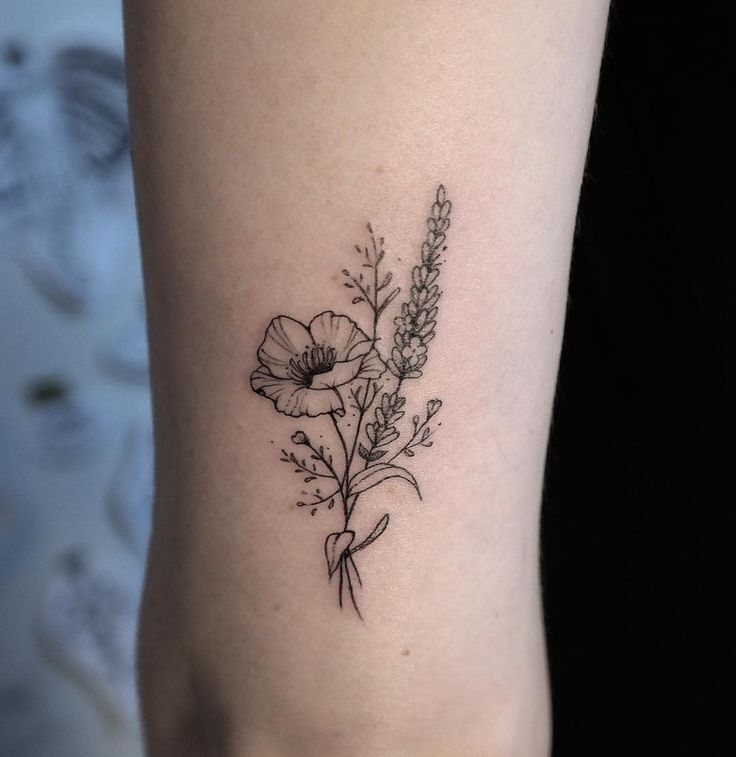 Sleeve tattoos Flower tattoos Ink Foot tattoos Tattoo designs Key tattoos Fairy tattoo designs Rose tattoos Skull tattoos Watercolor tattoos Pattern tattoos Peonies tattoo Tattoo artists Butterfly tattoos Tattoo ideas New zealand tattoo Tattoos Buse - Poppy & Lavender