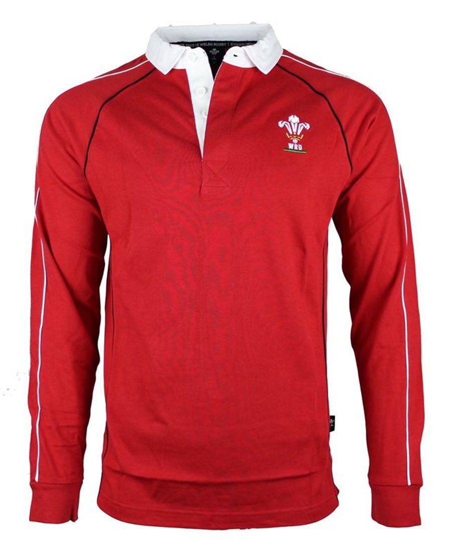 WRU England Rugby Baby Boys RFU Long Sleeved Top
