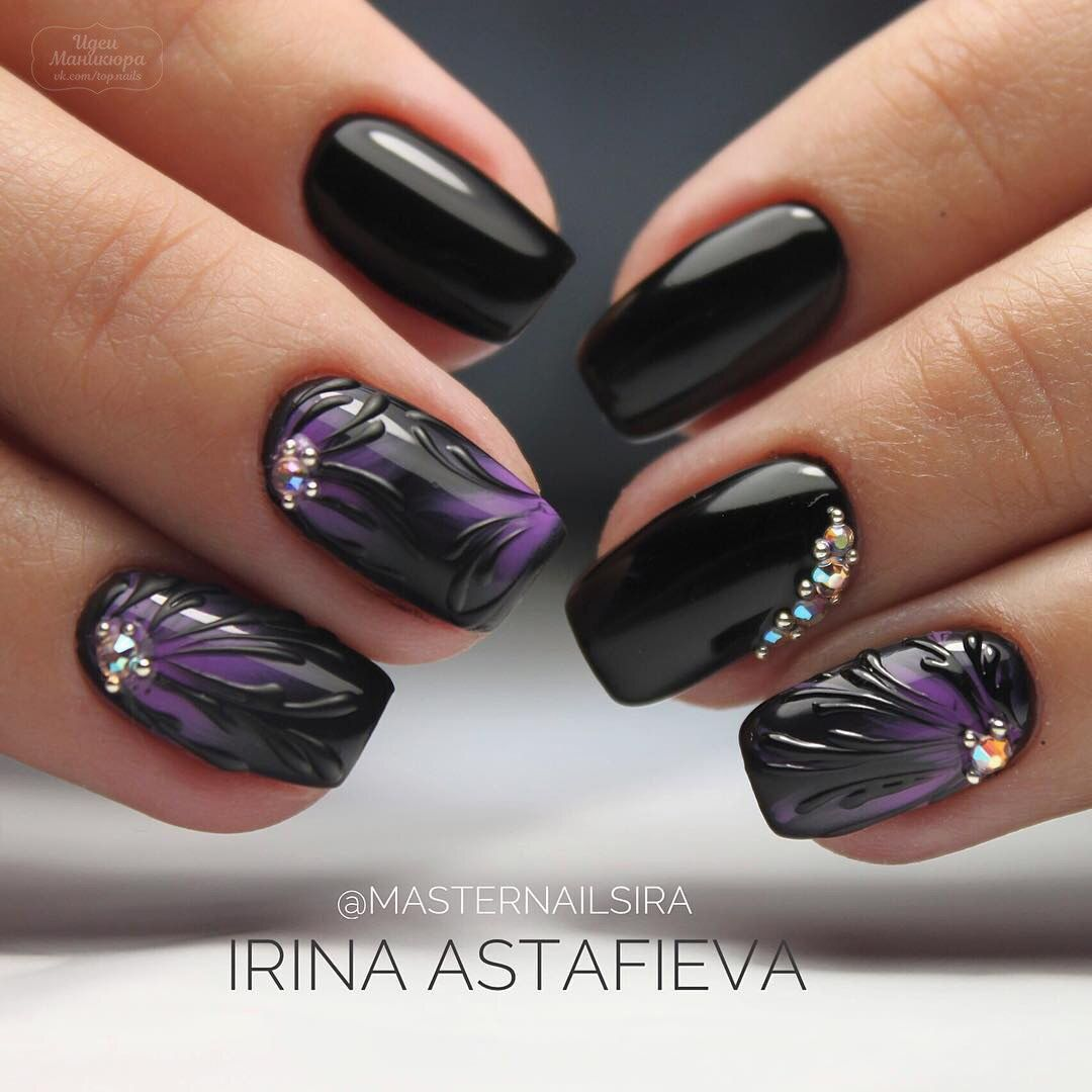 Pin by Stephanie Edson on Rhinestones on Nails | Pinterest | Nude nails