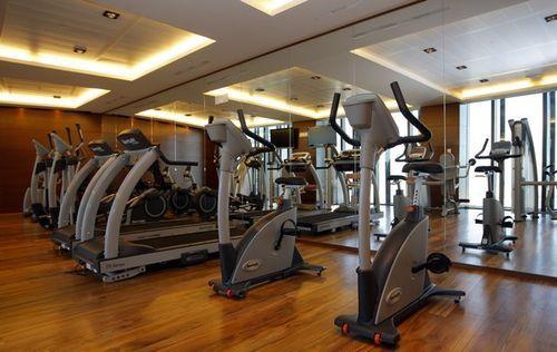 eurostars madrid tower hotel fitness room gym pinterest