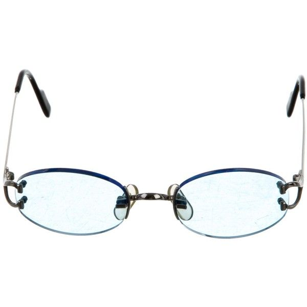 23fee6d01b Pre-owned Cartier Vintage Rimless Sunglasses (€570) ❤ liked on Polyvore  featuring accessories