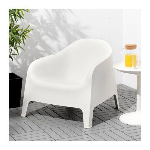 Poltrone Ikea Da Giardino.Skarpo Poltrona Da Giardino Bianco Nel 2020 Arredamento