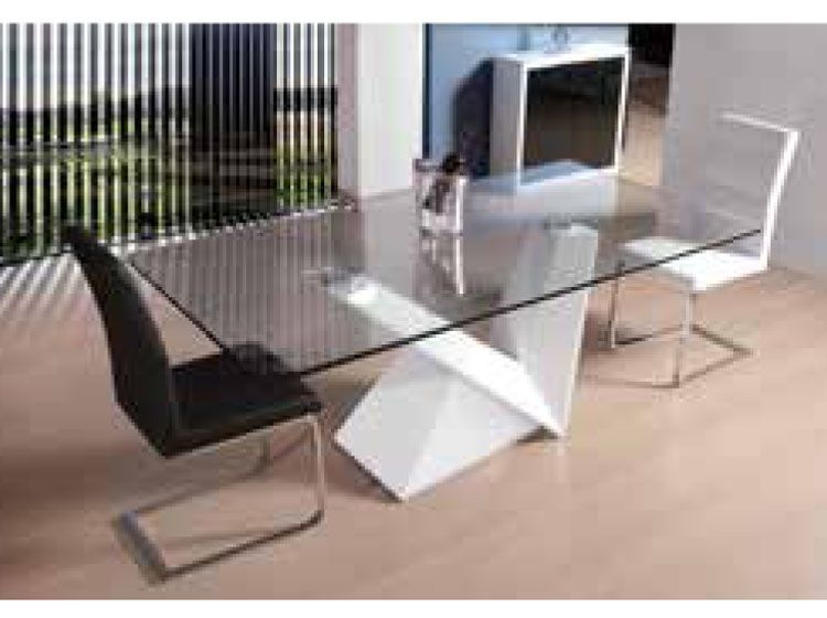 mesas de comedor modernas mesas de comedor en cristal   Decoración ...