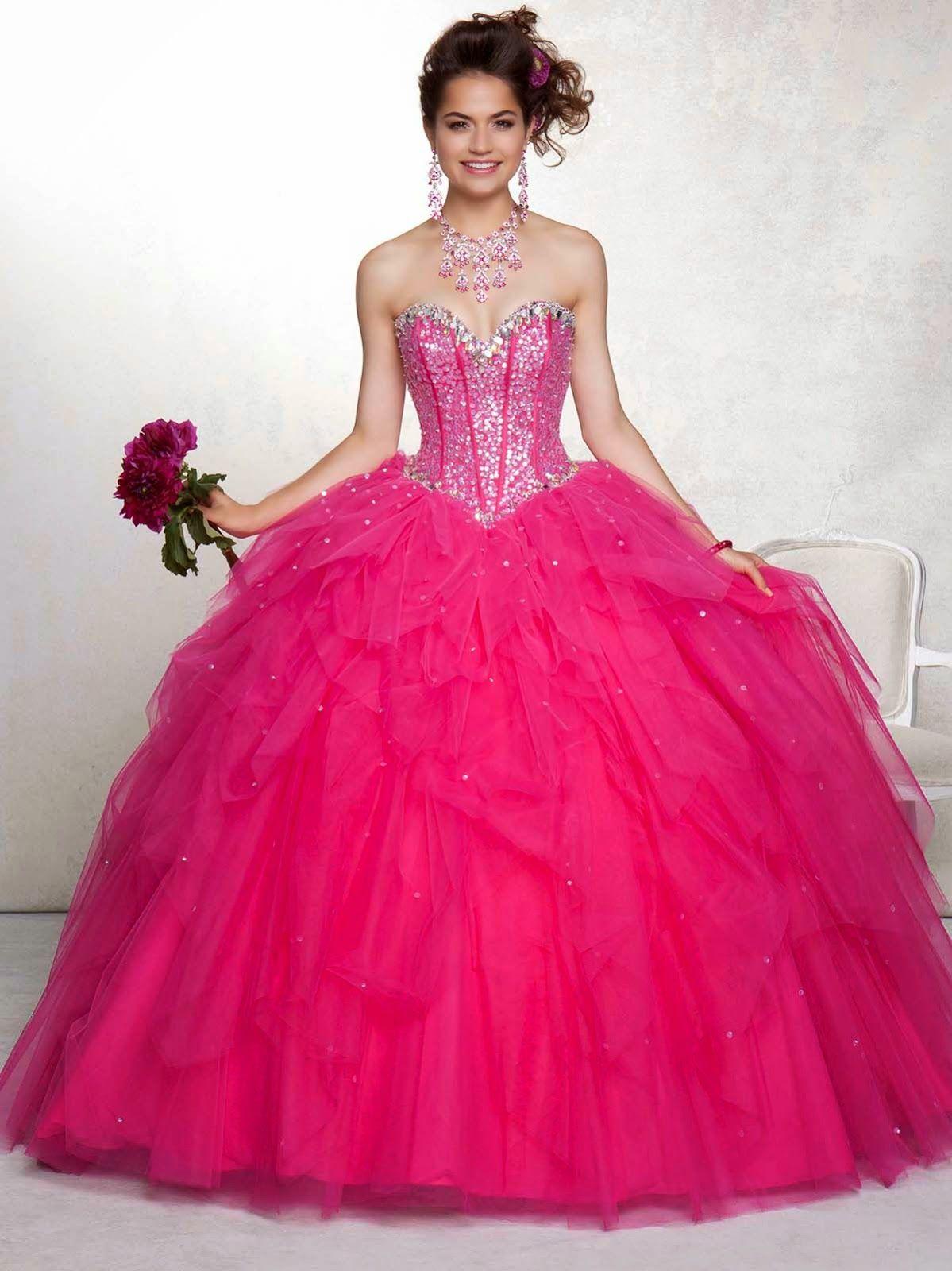 Bonitos vestidos de 15 años | Diseños exclusivos | Sweet 16 dress/15 ...
