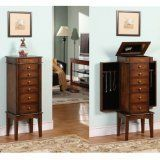 Nathan Elite 6 Drawer Jewelry Armoire