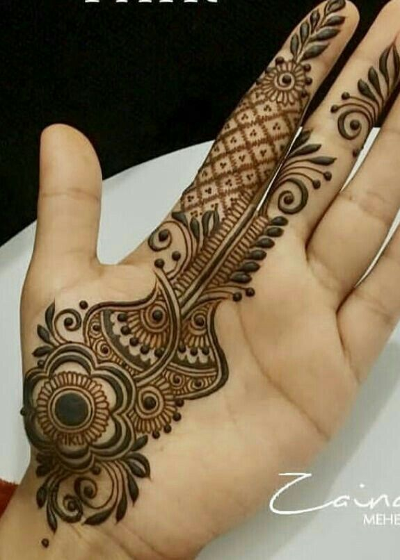 240+ Simple Mehndi Designs {New*} Photos, Images & Pictures