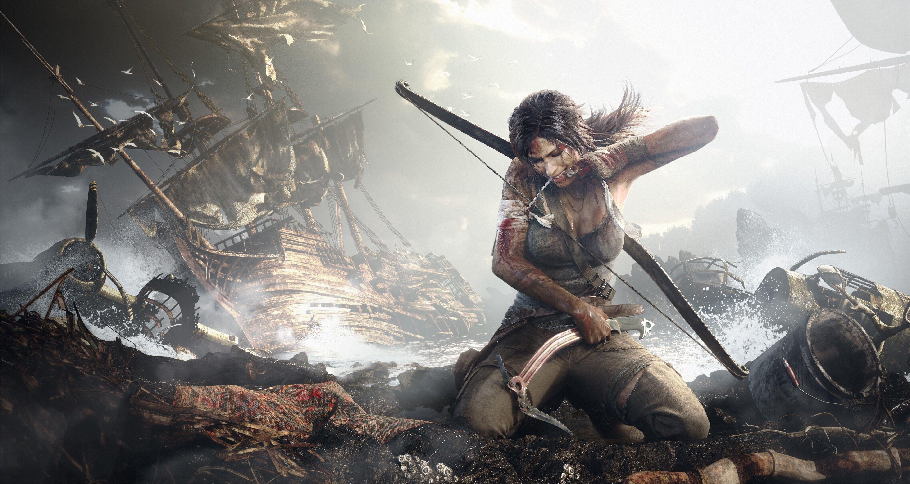 3840x2044 Rise Of The Tomb Raider 4k New Wallpaper Background Tomb Raider Wallpaper Tomb Raider 2013 New Tomb Raider