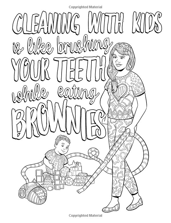 Mom Life 2: Return of Toddzilla: A Snarky Adult Colouring ...