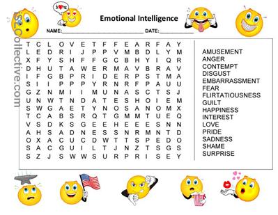 worksheets for kids feelings forward emotions and feelings worksheets ...
