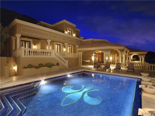 stunning decoration of mansions with pools gorgeous modern minimalist mansions with pools brown color interior