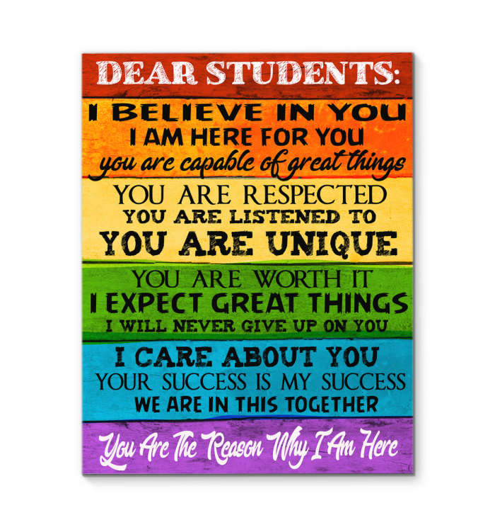 Dear Students I Believe In You You Are A teacher! Welcome to New #School  Year, Mom Life Wif… | Dear students, Back to school quotes for teachers,  Wishes for teacher