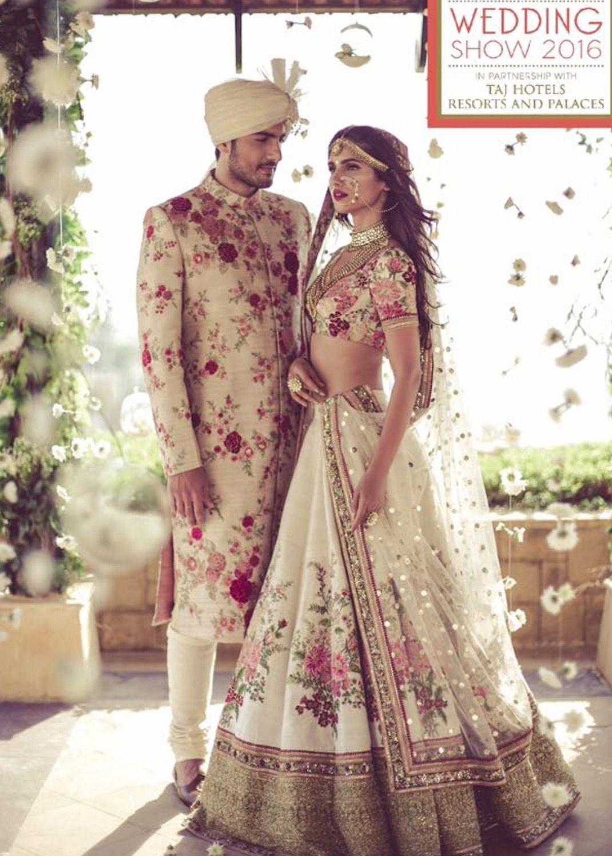 beautiful traditional indian wedding gown | indian wedding