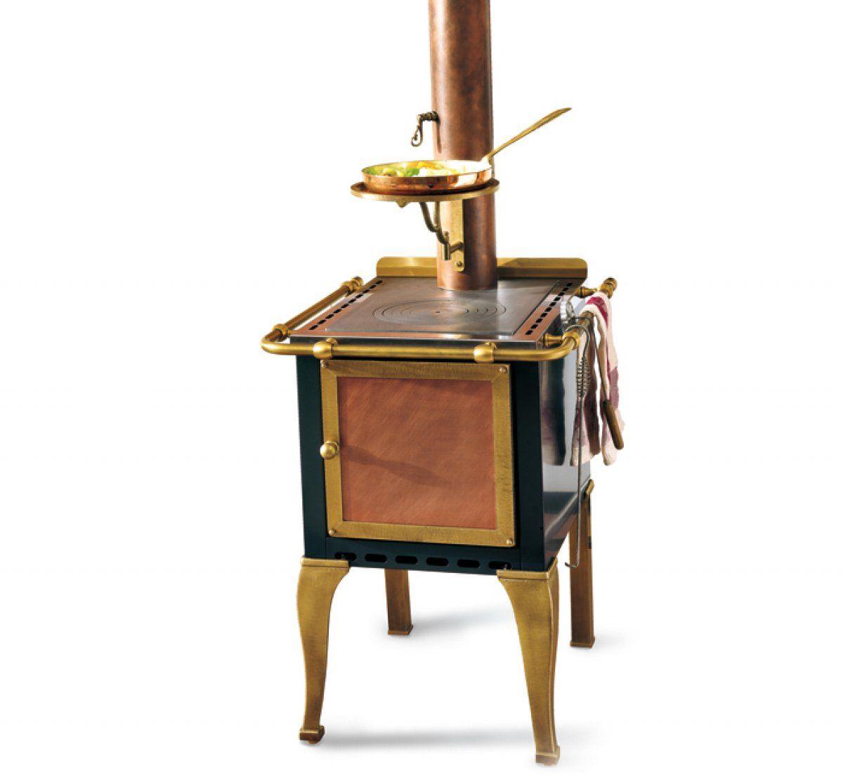 Fire wood stove cm artusi line cnl forni rame range