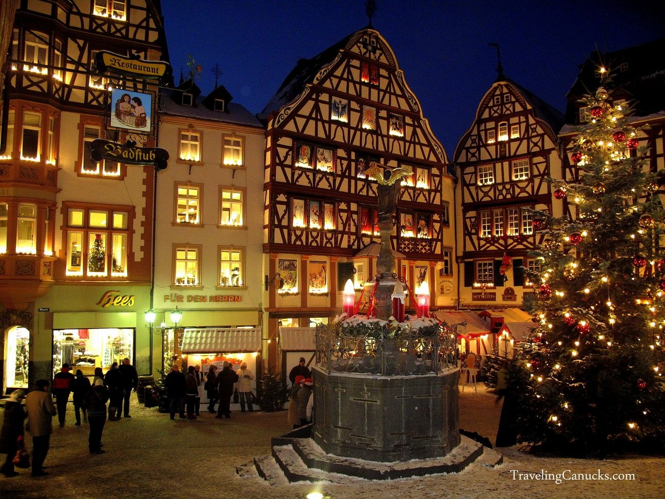 Christmas Town In Germany.Bernkastel Germany S Picture Perfect Christmas Village