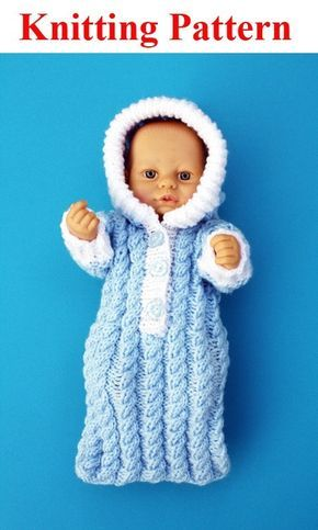 Image Result For Free Doll Clothes Knitting Patterns Micro Preemie