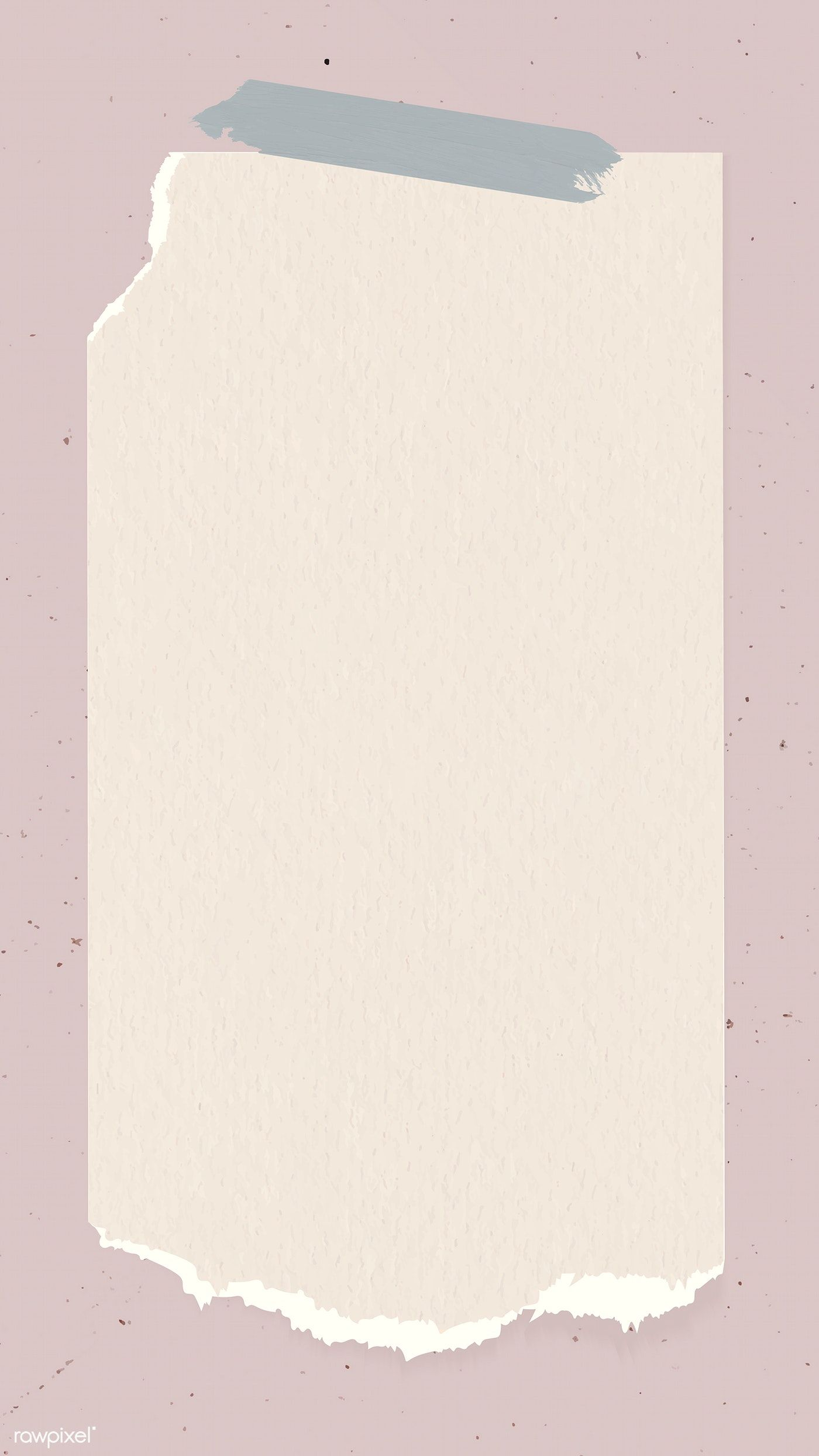 Download Premium Vector Of Ripped Paper Note Template Vector