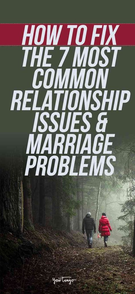 Most common relationship problems