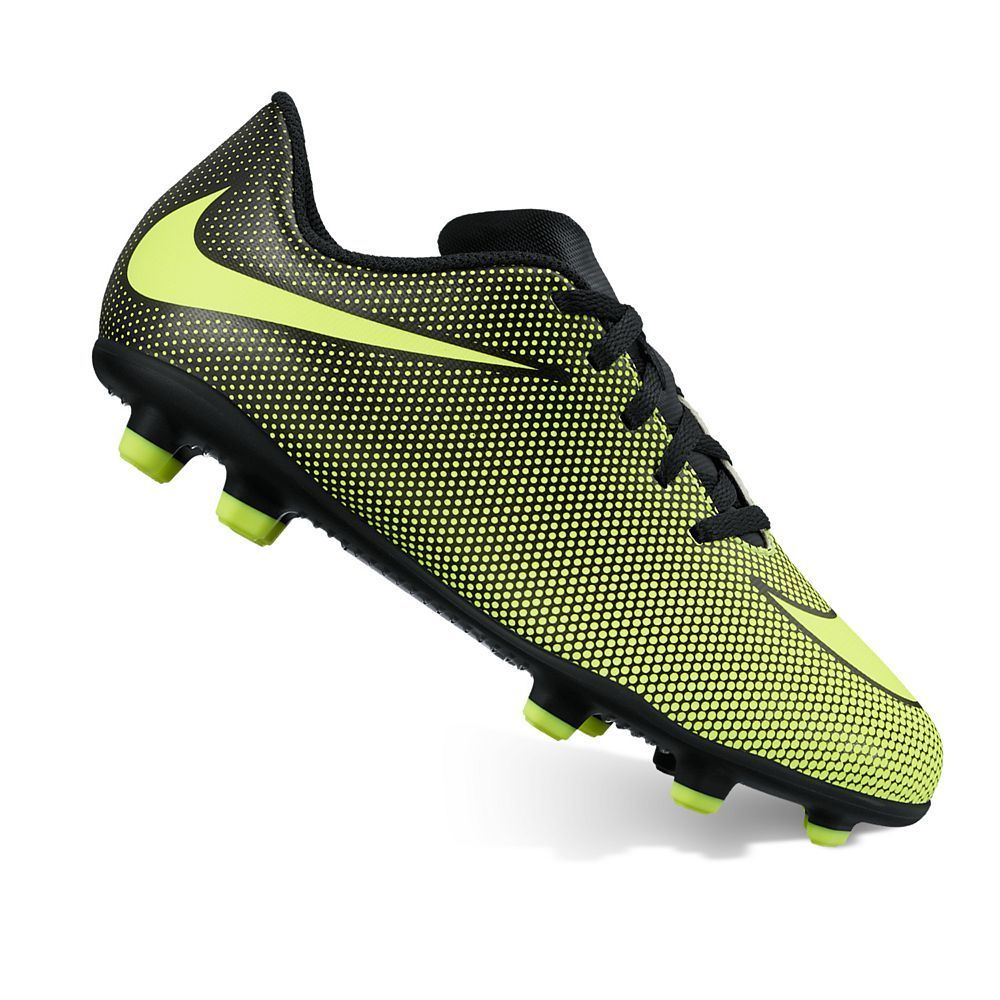 38b1a73a741f Nike Jr. Bravata II Kids' Firm-Ground Soccer Cleats, Kids Unisex, Size:  5.5, Grey Other