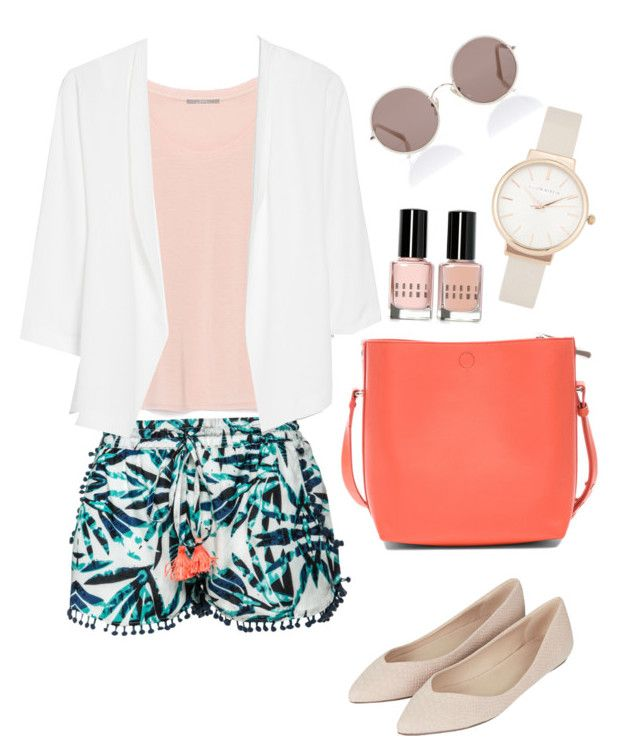 """""""Tropical"""" by chichiwi ❤ liked on Polyvore featuring Scoop, Zara, Olivia Burton, Topshop, MANGO, 3.1 Phillip Lim, Sunday Somewhere and Bobbi Brown Cosmetics"""