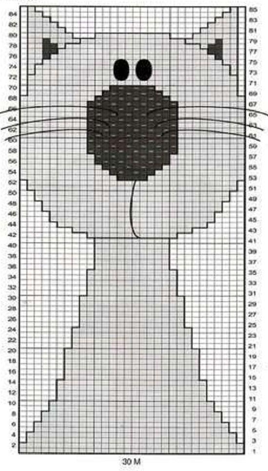 Вязание спицами для детей орнамент или вышивка