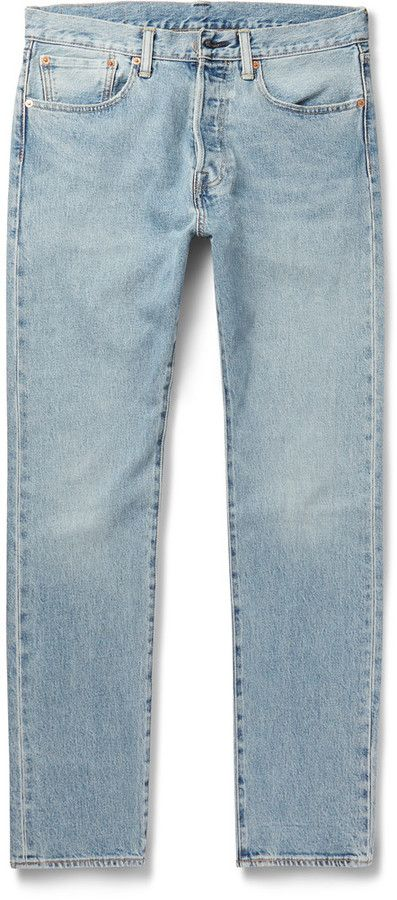 Outlet New 501 Skinny-fit Stretch-denim Jeans Levi's From China Free Shipping Low Price A0pfKQYm