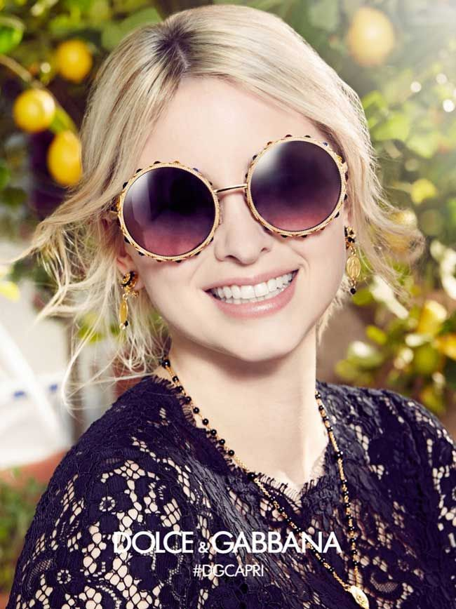 Sonia Ben Ammar Stars in Dolce Gabbana SS 2017 Sunglasses. Photo Franco Pagetti #eyewear  #sunglasses #dolcegabbana #s2017 #adcampaign #fashion #womenswear