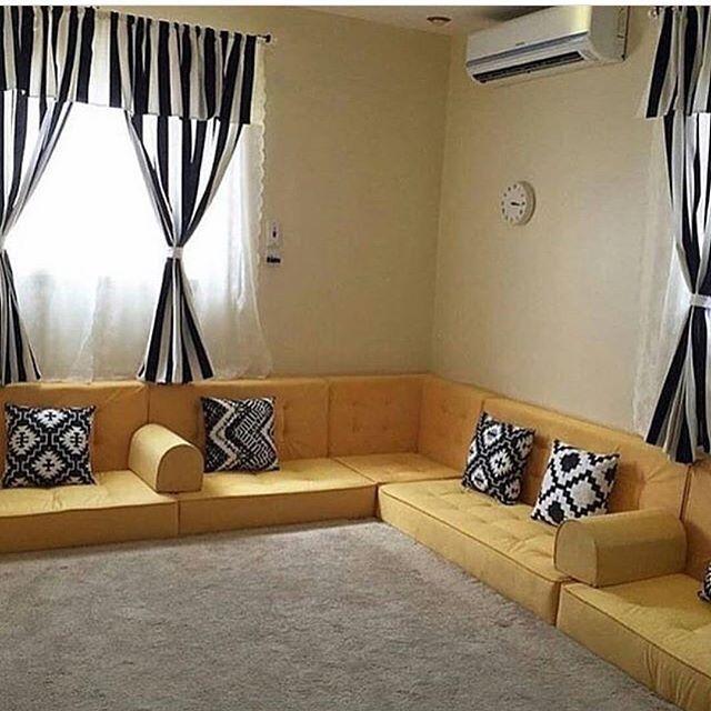 مشاركة من الدايركت رايكم فيها Living Room Sofa Design Home Room Design Living Room Decor Cozy