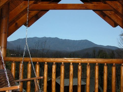 High Expectations, 1 Bedroom Cabin In The Hills Above Gatlinburg,  Tennessee, In