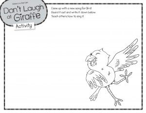 Downloadable activity: Come up with a new song for Bird