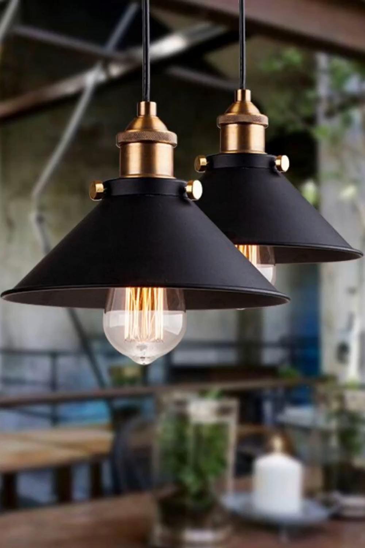 Exklusive Vintagelampe im industrial Look