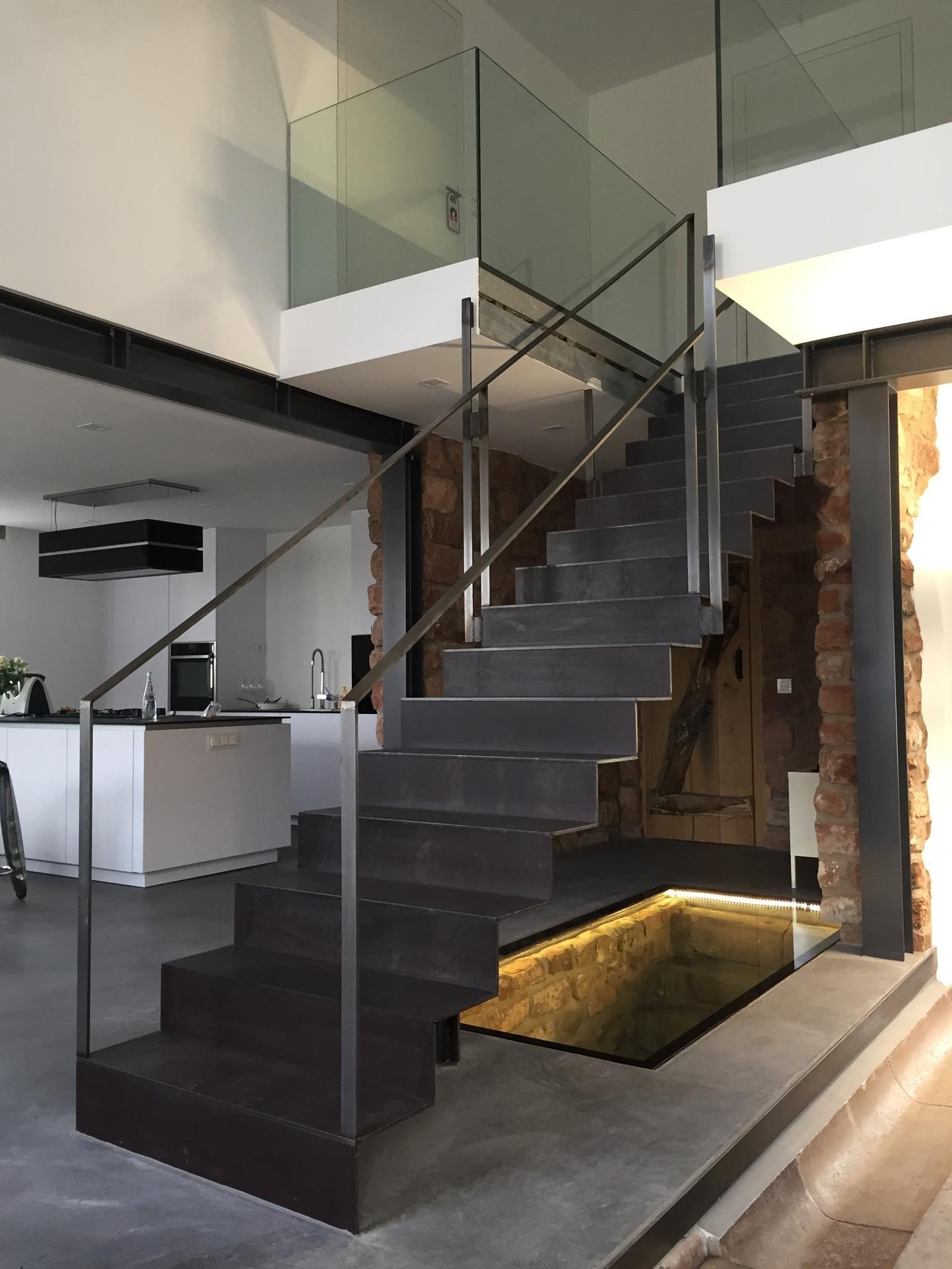 Treppenbau Schmidt treppen bauelemente schmidt gmbh faltwerktreppe aus stahl