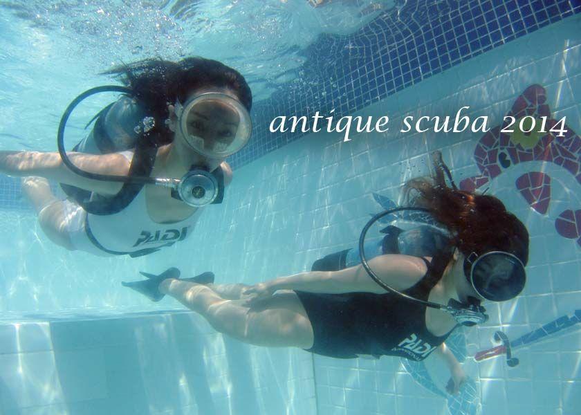 Antique Scuba | Dive girls | Pinterest | Scubas, Girls and ...