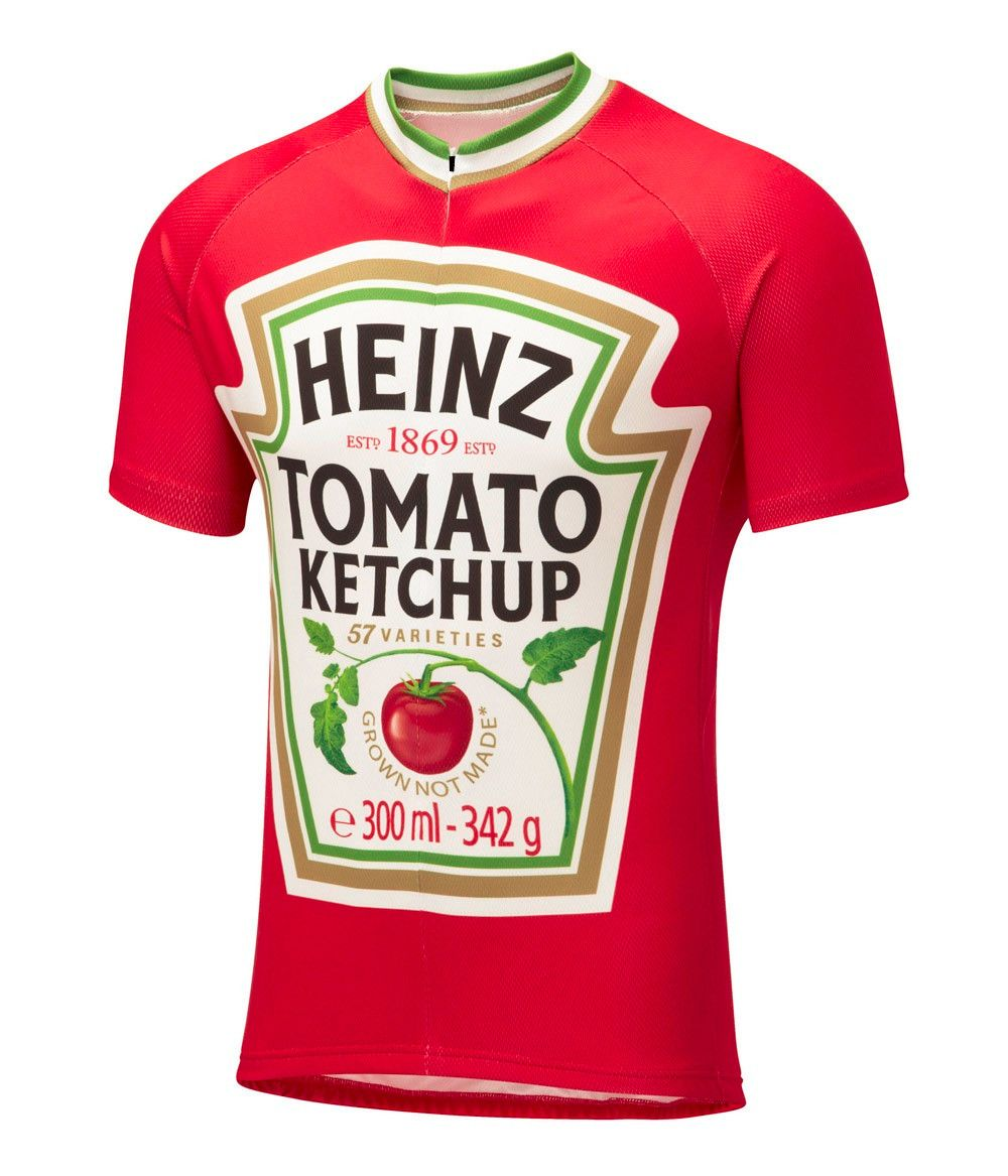 Jersey Heinz Tomato Ketchup   28.00   FREE Worldwide Shipping!  lovecycling   bikeparts e7ee56758